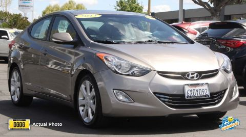 Certified Used Hyundai Elantra Limited PZEV