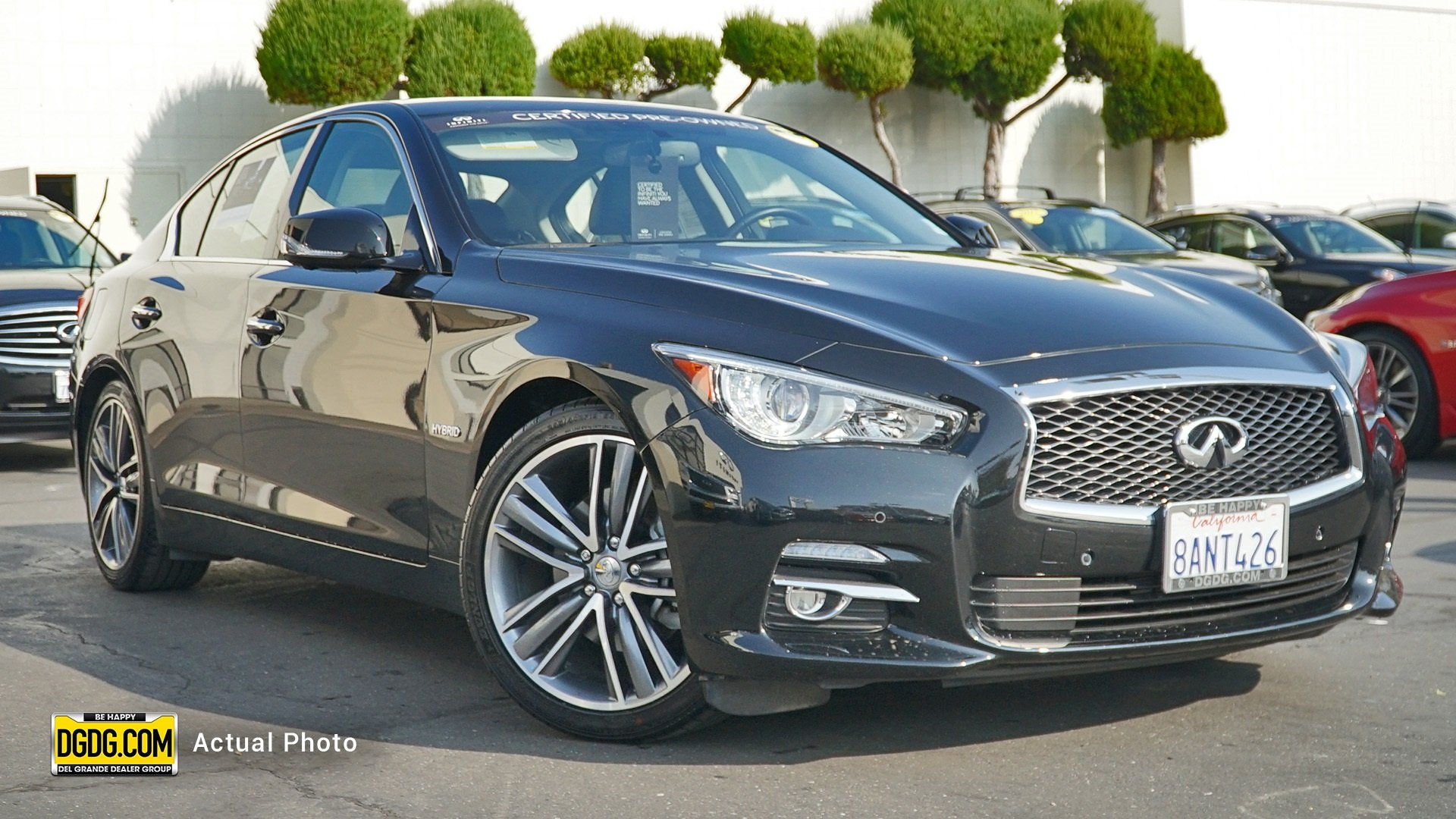 Certified Pre Owned 2017 Infiniti Q50 Hybrid Base