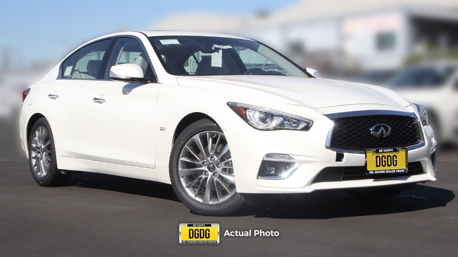 Stevens Creek Infiniti >> New 2019 INFINITI Q50 3.0t LUXE 4dr Car in Santa Clara # ...