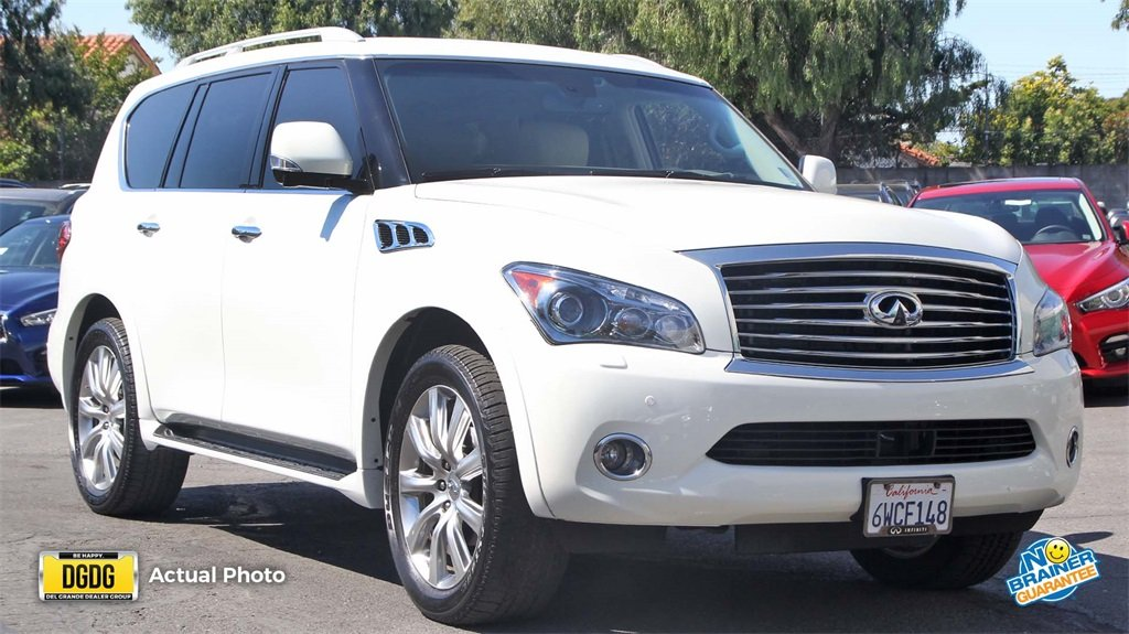 Certified PreOwned 2012 INFINITI QX56 7passenger Sport Utility