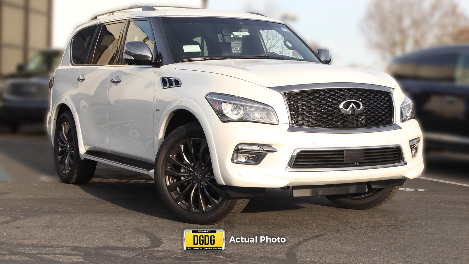 New 2017 Infiniti Qx80 Limited