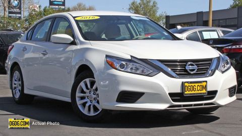 Pre-Owned 2016 Nissan Altima 2.5 S FWD 4dr Car
