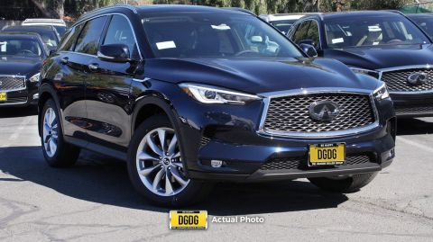 New 2019 INFINITI QX50 LUXE FWD Sport Utility