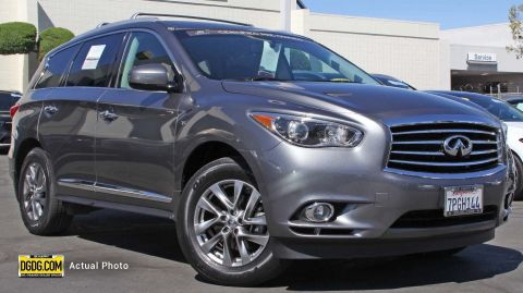 Certified Pre-Owned 2015 INFINITI QX60 Base AWD Sport Utility