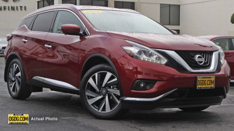 Pre-Owned 2018 Nissan Murano Platinum AWD Sport Utility