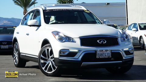Certified Pre-Owned 2017 INFINITI QX50 Base