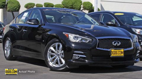 Certified Pre-Owned 2015 INFINITI Q50 Premium RWD 4dr Car