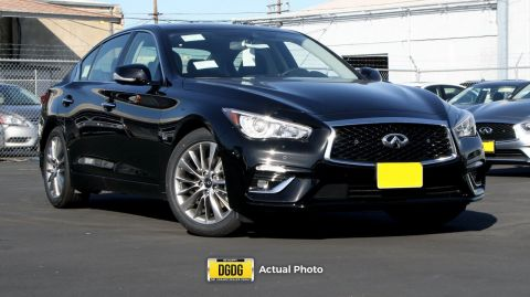 New 2018 INFINITI Q50 3.0t LUXE RWD 4dr Car