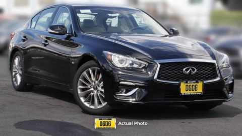 New 2019 INFINITI Q50 3.0t LUXE RWD 4dr Car