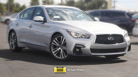New 2018 INFINITI Q50 3.0t SPORT RWD 4dr Car