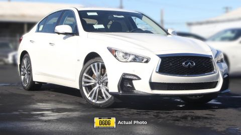 New 2018 INFINITI Q50 3.0t SPORT AWD 4dr Car