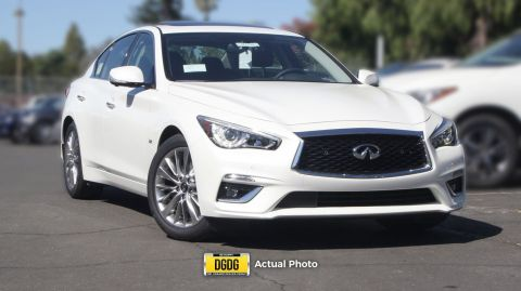 New 2018 INFINITI Q50 3.0t LUXE AWD 4dr Car