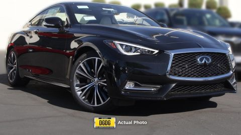 New 2018 INFINITI Q60 3.0t LUXE AWD 2dr Car