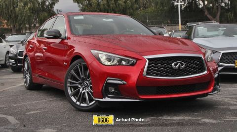 New 2018 INFINITI Q50 RED SPORT 400 RWD 4dr Car