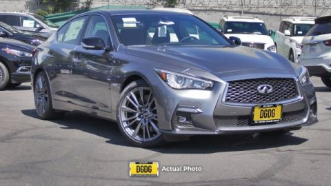 New 2019 INFINITI Q50 RED SPORT 400 RWD 4dr Car