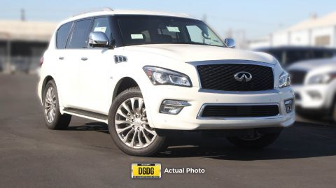 New 2017 INFINITI QX80 Base AWD Sport Utility