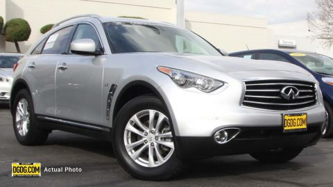 Certified Pre-Owned 2016 INFINITI QX70 Base AWD Sport Utility
