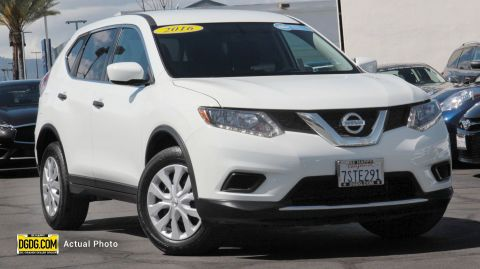 Pre-Owned 2016 Nissan Rogue S FWD Sport Utility